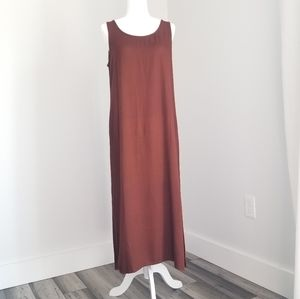 Freestyle Original Collection Rust Maxi dress